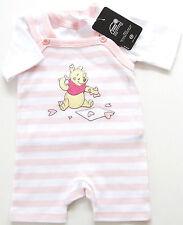 Spieler Gr.68 Disney NEU rosa Set 100% Baumwolle Strampler Pooh baby sommer