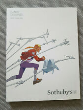 Catalogue enchères BD SOTHEBY'S 2016 couv MOEBIUS