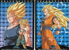 Dragonball Z Card Hero Collection Part 3 Super Saiyan Battle lot of 4. -pwe