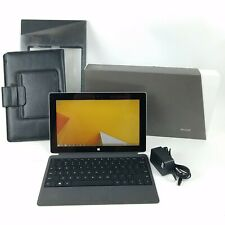 Microsoft Surface RT 32GB Tablet Bundle w/ Type Cover Keyboard & Leather Case