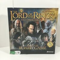 Lord of the Rings Complete Trilogy Adventure Board Game Deluxe Edition NOB