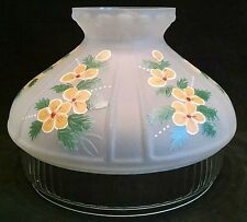 ALADDIN LAMP SHADE PART # N605 BUTTER CUPS DECORATION 10 INCH FITTER NEW IN BOX