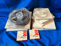 """Large Lot Magnetic Recording Tape Reel To 7"""" 1.4"""" 1200ft Used 1800P Allegro"""