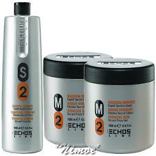Hydrating KitMax S2 Shampoo 1Lt + 2 x M2 Mask 1Lt Echos Line ® Dry & Frizzy Hair