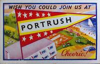 PORTRUSH CO ANTRIM POSTCARD. 1950's IRISH NORTHERN IRELAND.