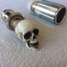 Made in USA Skull knob Car Cigarette Lighter 12v Hot Rat Street Rod shift 17CL