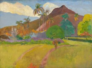 "Paul Gauguin : ""Tahitian Landscape"" (1891) — Giclee Fine Art Print"
