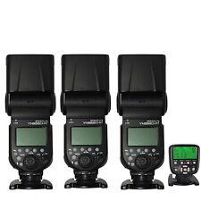 3xYONGNUO YN968EX-RT TTL Wireless Flash Speedlite +YN560-TX II Trigger for Canon