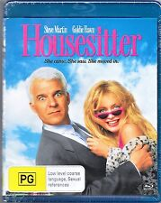 Housesitter Blu Ray New (Steve Martin,Goldie Hawn) Region B Free Post