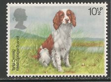 Great Britain #852 (Sg #1076) Vf Mnh - 1979 10 1/2p Welsh Springer Spaniel Dog