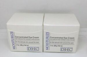 DHC TWIN PACK FACTORY SEALED/ NEW Concentrated Eye Moisturize Cream 0.7 oz. 20g