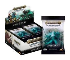 Playfusion Warhammer Age Of Sigmar Champions welle 2 Onslaught Booster Pack Bo