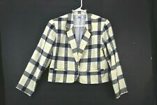 Lucia Women's Large VTG Vintage Retro Style Power Padded Shoulder Blazer Jacket