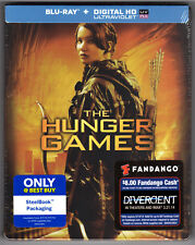 THE HUNGER GAMES BLU-RAY STEELBOOK NEU & OVP SEALED SOLD OUT BEST BUY EXCLUSIVE