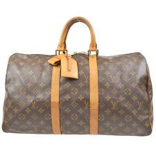 LOUIS VUITTON KEEPALL 45 TRAVEL HAND BAG PURSE MONOGRAM M41428 SP1902 41431