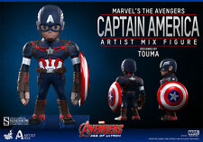 Hot Toys Touma Artist Mix Avengers Age Of Ultron CAPTAIN AMERICA *Brand New*