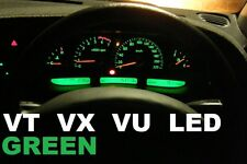 GREEN LED Dash Cluster & LCD Light Bulbs VT VX VU Commodore Calais Berlina SS