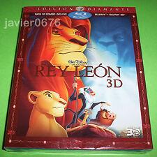 EL REY LEON CLASICO DISNEY 32 COMBO BLU-RAY 3D + 2D NUEVO Y PRECINTADO SLIPCOVER