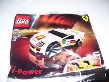 LEGO SHELL  FERRARI F 40 30192 SHELL V-POWER ORIGINALE BUSTA SIGILLATA