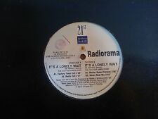 "DISCO 12"" VINILE RADIORAMA - IT'S A LONELY WAIT - DANCE MIX REMIX 21st CENTURY"