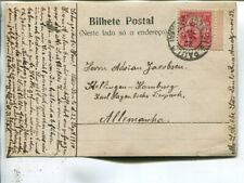 Brazil picture post card to Germany 1910