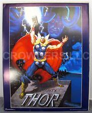 """Marvel Comics Mighty Thor & Loki 1989 Poster #28-623 22x28"""" Daniel Horne OSP VG"""