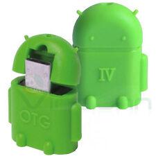 Mini adattatore Android Verde OTG Host USB Bulk per Samsung Galaxy S3 i9300 JOV1
