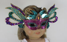 """Mardi Gras Mask Pink for 18"""" American Girl Doll Clothes Widest Selection Online"""