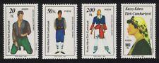 Turkish Cyprus Folk Dancers 4v MNH SG#212-215