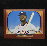 2020 Archives 1955 Bowman Yordan Alvarez - Houston Astros RC #30
