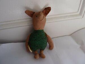 Anne Wilkinson Design Walt Disney Winnie The Pooh's Piglet Soft Toy 1980