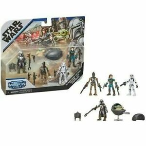 "Star Wars Mission Fleet Defend Cara Dune The Child 5-Pack 2.5""   Action Figure"