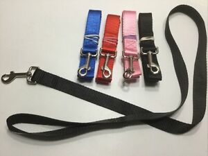 New 4ft Pet Dog Leash Nylon Durable for Small Dogs Cats Walking Training