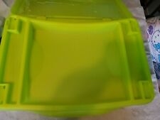 Green Folding Lap Desk with Storage for Kids Great for Traveling