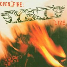 Y&T - Open Fire Live CD 2005 Remastered Reissue Dave Meniketti
