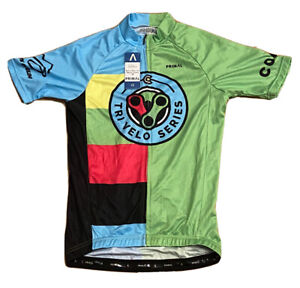 New With Tags Primal Men's Small Raglan Cut Tri Velo Series Cycling Jersey