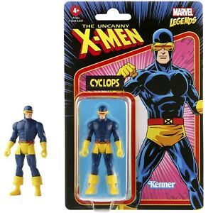 "Marvel Legends Retro Recollect Cyclops 3.75"" X-Men Action Figure"