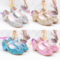 Kid Baby Girl Pearl Crystal Bling Bowknot Single Princess Shoes Children Sandals