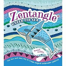 Zentangle Under the Sea, Hannah Geddes, New Book