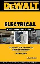 DEWALT Electrical Code Reference: Based on the 2011 National Electrical Code (DE