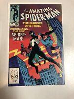 Amazing Spider-Man (1984) # 252 (NM-) Direct Edition 1st Black Costume!