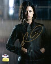 "RHONA MITRA as EDEN SINCLAIR SIGNED 8X10 PHOTO 2 ""DOOMSDAY, UNDERWORLD"" PSA DNA"