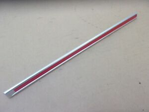 NEW 1965 Plymouth Fury Front Fender Colored Moulding Bars - RED