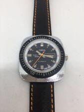 Vintage Oris Retro Twin-Date Gents 1960s Mechanical Watch.