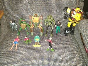 Action Figure Lot Mixed Vintage 80s And 90s Toys transformers G1and more lot 2