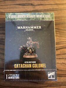 Games Workshop Warhammer 40K Astra Militarum Catachan Colonel Figure BNIB