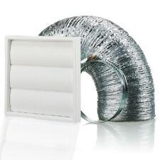 """Hotte cuisine ventilateur ventilation externe Grille de guidage Kit 150 mm/6"""""""