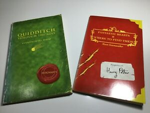 Fantastic Beasts and Where to Find Them & Quidditch Through The Ages 1st 1st