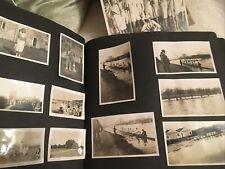 Large Edwardian Antique Photograph Album , Rowing Boat Races Over 200 Photos