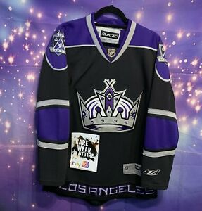 Los Angeles Kings Reebok CCM Throwback Jersey Size M Nhl